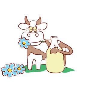 Молочная продукция из коровьего молока